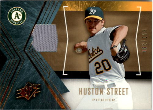 Photo of 2005 SPx Jersey #43 Huston Street