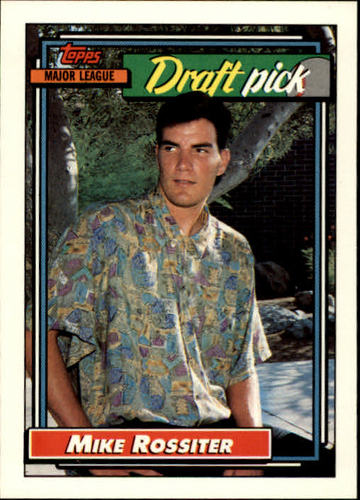 Photo of 1992 Topps #474 Mike Rossiter RC