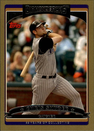 Photo of 2006 Topps Gold #14 Chris Snyder
