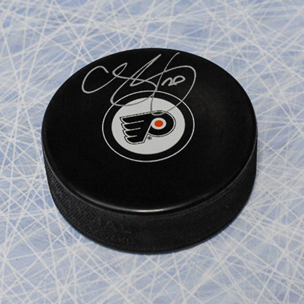 Chris Pronger Philadelphia Flyers Autographed Hockey Puck
