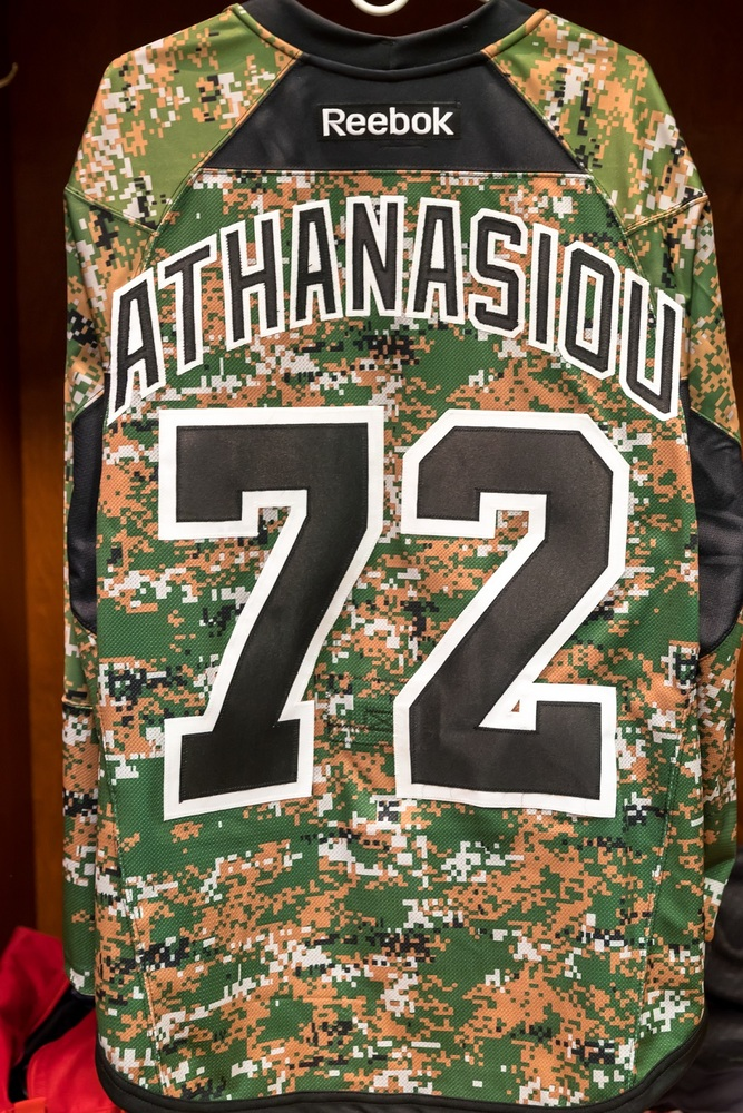 new style c0b3c 71948 Andreas Athanasiou (#72)-Camo Authentic Jersey - Detroit Red ...