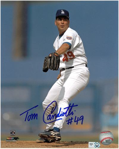 Photo of Tom Candiotti Autographed 8x10 Photo