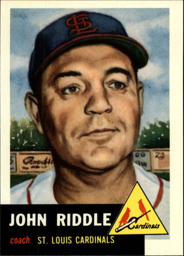 Photo of 1991 Topps Archives 1953 #274 John Riddle