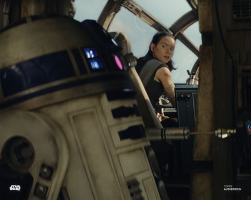 R2-D2 and Rey