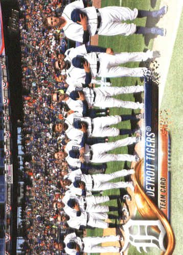 Photo of 2018 Topps #8 Detroit Tigers
