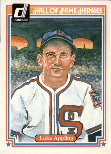 Photo of 1983 Donruss HOF Heroes #8 Luke Appling Hall of Fame Class of 1964