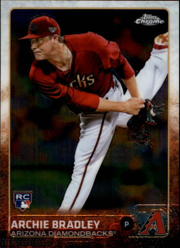 Photo of 2015 Topps Chrome #96 Archie Bradley Rookie Card