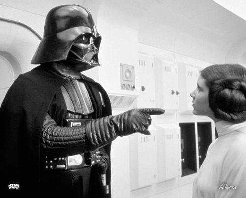 Princess Leia Organa, and Darth Vader