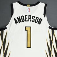 Justin Anderson - Atlanta Hawks - Game-Worn City Edition Jersey - 2018-19 Season