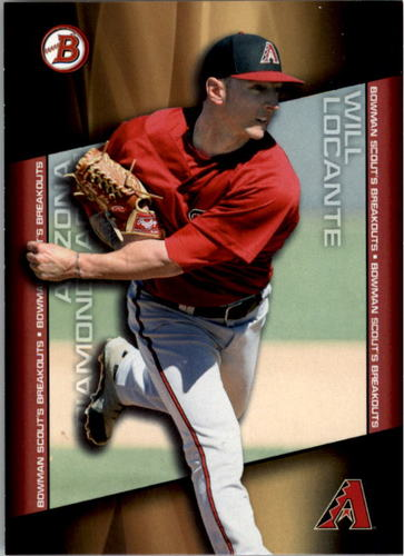 Photo of 2014 Bowman Draft Scouts Breakout #BSBWL Will Locante
