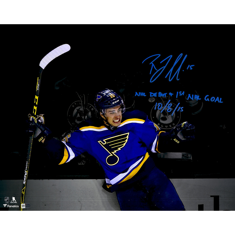 Robby Fabbri St. Louis Blues Autographed 16
