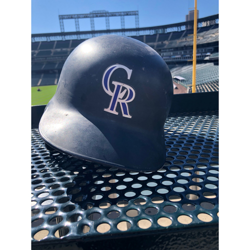 Photo of Colorado Rockies Game-Used Batting Helmet - Carlos Gonzalez