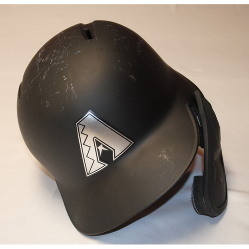 "Photo of Nick ""SLICK NICK"" Ahmed Arizona Diamondbacks Game-Used 2019 Players' Weekend Helmet"