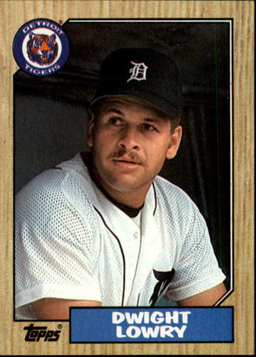 Photo of 1987 Topps #483 Dwight Lowry