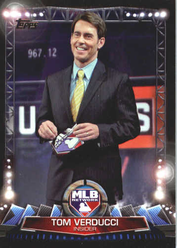 Photo of 2017 Topps MLB Network #MLBN12 Tom Verducci
