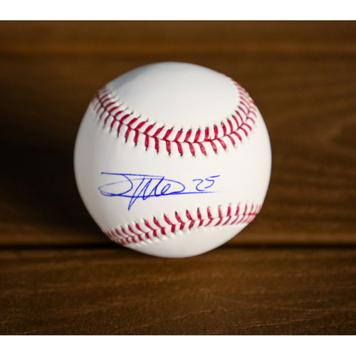 Photo of Jose Leclerc Autographed Baseball