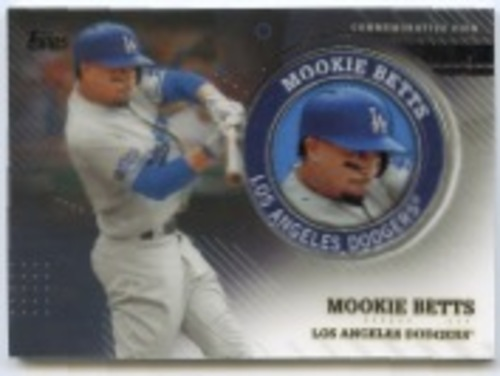 Photo of 2020 Topps Player Medallions #TPMMB Mookie Betts