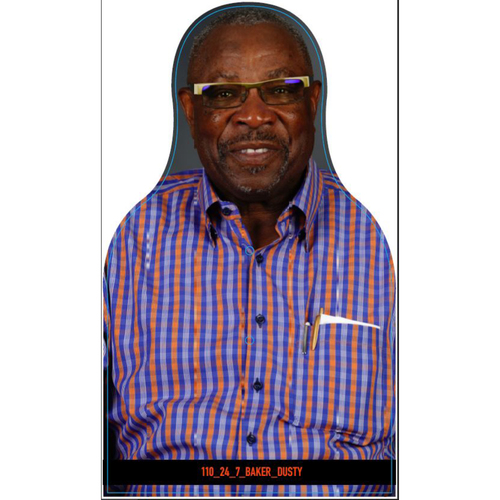 Photo of Giants Community Fund: Giants Dusty Baker Cutout
