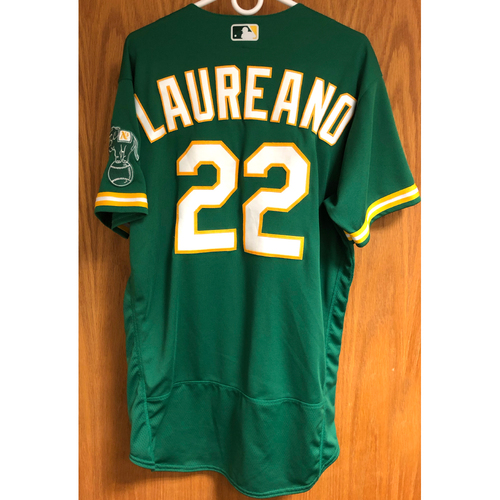 Photo of Game-Used 2020 Jersey - Ramon Laureano