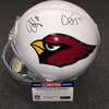 NFL - Cardinals Patrick Peterson and Chandler Jones signed Cardinals proline helmet