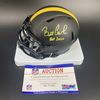 HOF - Steelers Bill Cowher Signed Eclipse Mini Helmet