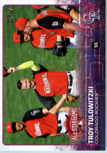 Photo of 2015 Topps Update #US199 Troy Tulowitzki