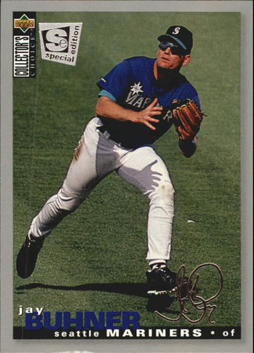 Photo of 1995 Collector's Choice SE Silver Signature #124 Jay Buhner