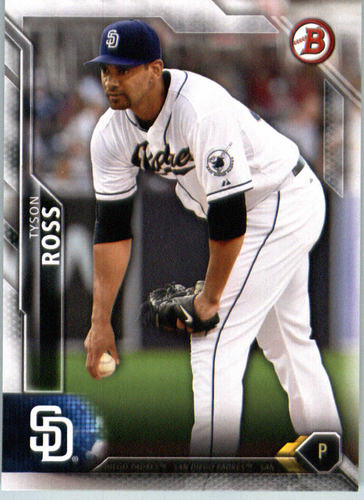 Photo of 2016 Bowman #73 Tyson Ross