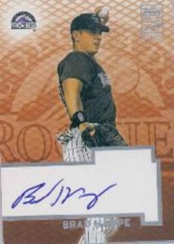 Photo of 2003 Topps Autographs #BH Brad Hawpe D2