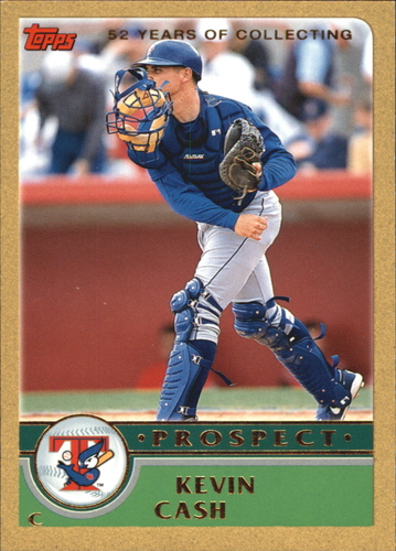 Photo of 2003 Topps Traded Gold #T123 Kevin Cash PROS