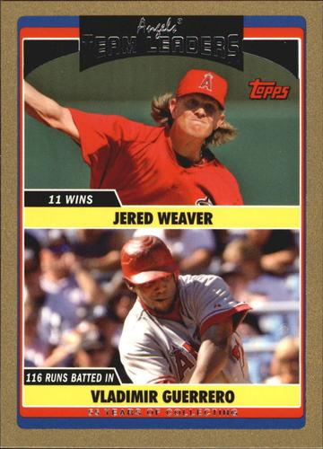 Photo of 2006 Topps Update Gold #318 J.Weaver/V.Guerrero TL