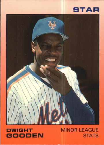 Photo of 1988 Star Gooden Glossy #1 Dwight Gooden/Minor League Stats