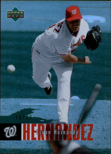 Photo of 2006 Upper Deck Special F/X Green #493 Livan Hernandez /99
