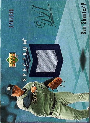 Photo of 2007 Upper Deck Spectrum Swatches #BS Ben Sheets Jersey /199