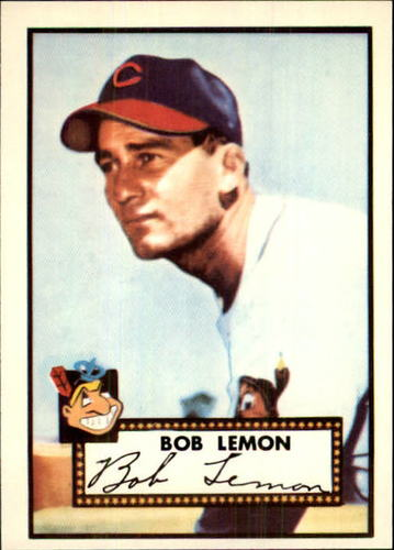 Photo of 1983 Topps 1952 Reprint #268 Bob Lemon