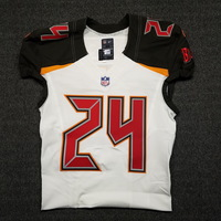CRUCIAL CATCH - BUCCANEERS BRENT GRIMES GAME ISSUED BUCCANEERS JERSEY (OCTOBER 29, 2017) SIZE 40