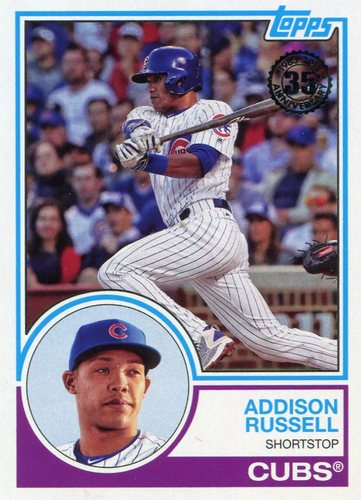Photo of 2018 Topps '83 Topps #8399 Addison Russell