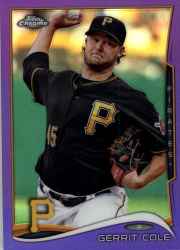 Photo of 2014 Topps Chrome Purple Refractors #46 Gerrit Cole