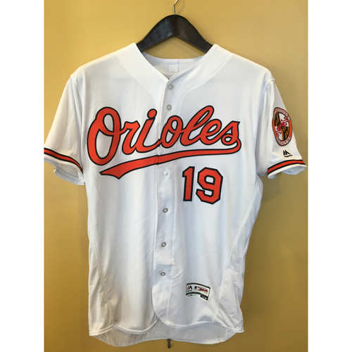 Photo of Chris Davis - Home Jersey: Autographed