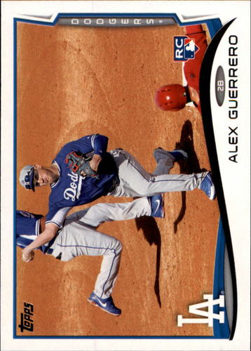 Photo of 2014 Topps #643 Alex Guerrero Rookie Card
