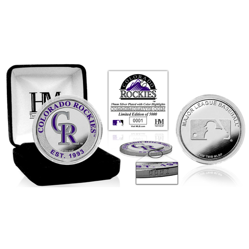 Photo of Colorado Rockies Silver Color Coin
