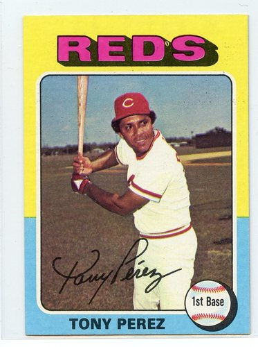 Photo of 1975 Topps Mini #560 Tony Perez