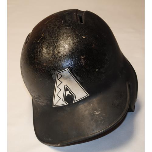 "Photo of Tim ""TIMMYLO"" Locastro Arizona Diamondbacks Game-Used 2019 Players' Weekend Helmet"