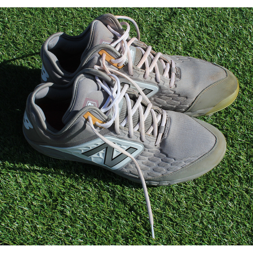 Photo of Game-Used Cleats: Tim Hill (8/24/19 - KC @ CLE - Size 13)