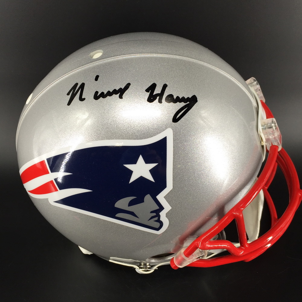 NFL - Patriots N'Keal Harry Signed Proline Helmet