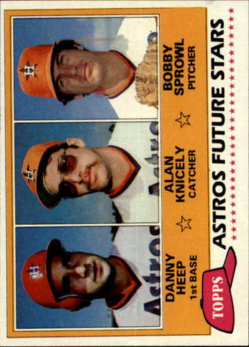 Photo of 1981 Topps #82 Danny Heep RC/Alan Knicely/Bobby Sprowl RC