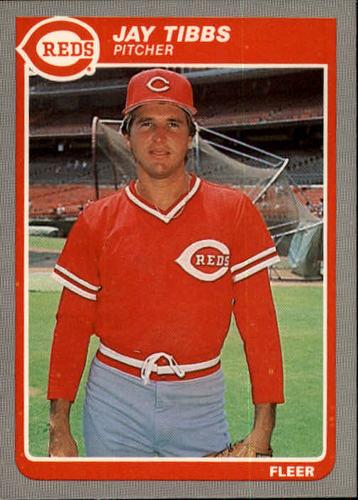 Photo of 1985 Fleer #553 Jay Tibbs
