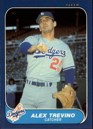 Photo of 1986 Fleer Update #119 Alex Trevino