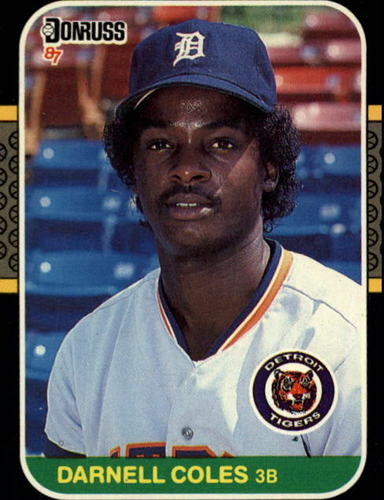Photo of 1987 Donruss #230 Darnell Coles
