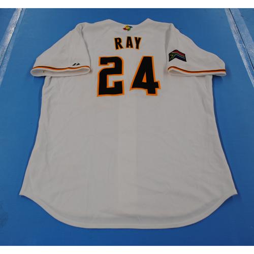 Photo of 2006 Inaugural World Baseball Classic: Gavin Ray Game-worn Team South Africa Home Jersey